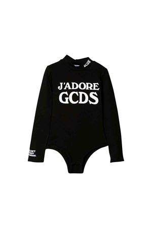 Black GCDS kids bodysuit  GCDS KIDS | 32 | 020521110