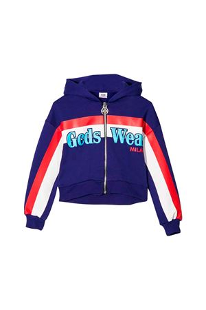 GCDS purple kids teen sweatshirt  GCDS KIDS | -108764232 | 020528070T
