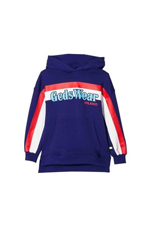 GCDS kids purple sweatshirt  GCDS KIDS | -108764232 | 020529070