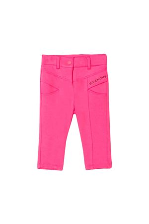 GIVENCHY KIDS NEWBORN PINK PANTS  Givenchy Kids | 9 | H0406046C