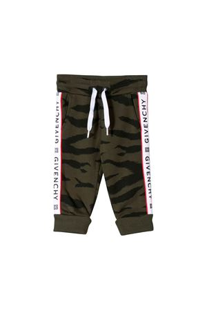 JOGGING PANTS MILITARY GIVENCHY KIDS Givenchy Kids | 9 | H04062U60