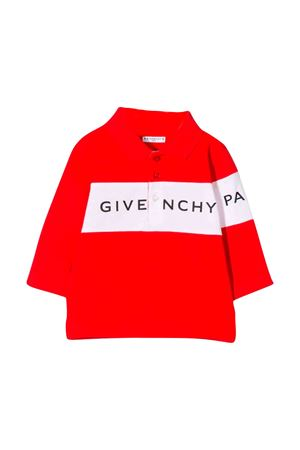 Red Polo Givenchy kids  Givenchy Kids | 2 | H05088991