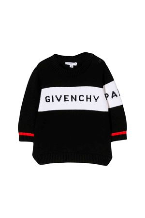 Givenchy kids black sweater  Givenchy Kids | -1384759495 | H0510309B