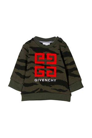 Felpa verde kaki bambino Givenchy kids Givenchy Kids   -108764232   H05106U60
