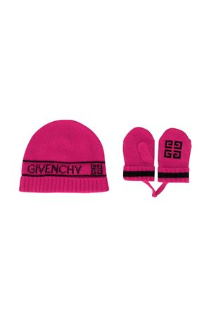Givenchy kids fuchsia set girl  Givenchy Kids | 75988881 | H0802246C
