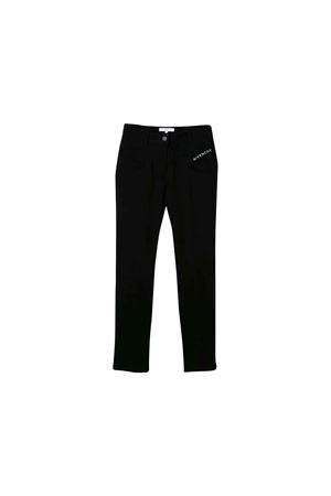 BLACK TROUSERS GIVENCHY KIDS  Givenchy Kids | 9 | H1407009B