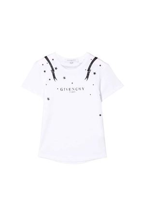 WHITE GIVENCHY KIDS TEEN T-SHIRT  Givenchy Kids | 5032319 | H1513010BT