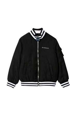 BLACK GIVENCHY KIDS JACKET  Givenchy Kids | 13 | H1604509B