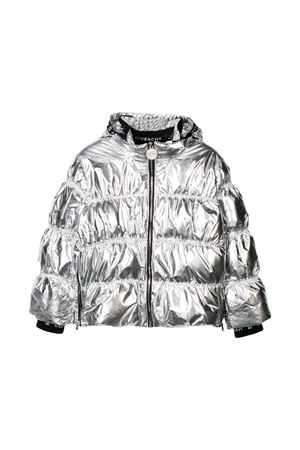 Giubbino silver Givenchy kids teen Givenchy Kids | 783955909 | H16048079T