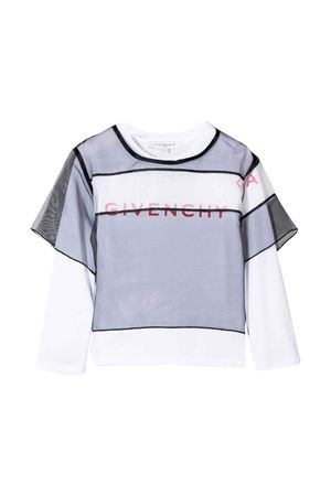 White Givenchy kids girl sweatshirt  Givenchy Kids | 8 | H18006M41