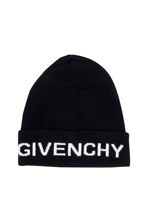 BLACK GIVENCHY KIDS HAT Givenchy Kids | 75988881 | H2102509B