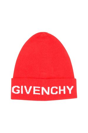 Red Givenchy kids wool cap  Givenchy Kids | 75988881 | H21025991