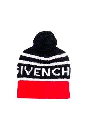 Givenchy kids black wool cap  Givenchy Kids | 75988881 | H21028M99