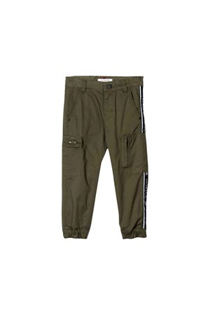 Khaki Givenchy Kids trousers Givenchy Kids | 9 | H24054642
