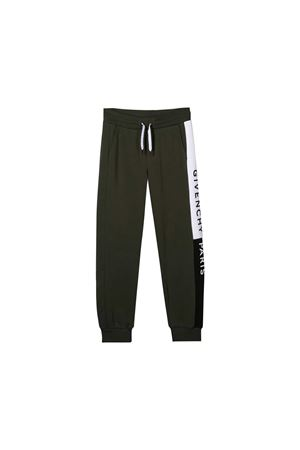 Jogging pants kaki Givenchy kids teen Givenchy Kids | 9 | H24058642T