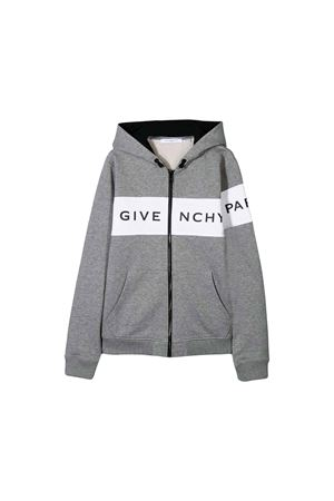 GIVENCHY KIDS TEEN GRAY SWEATSHIRT  Givenchy Kids | 39 | H25120A47T