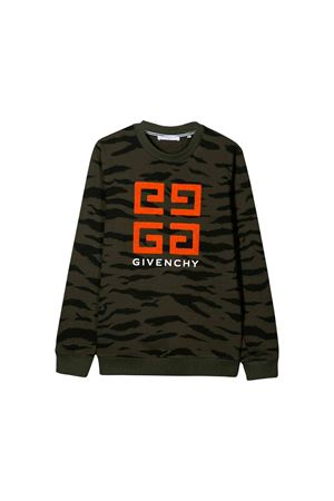 Green Givenchy kids sweatshirt  Givenchy Kids | -108764232 | H25135U60