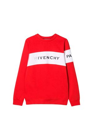 RED SWEATSHIRT GIVENCHY KIDS Givenchy Kids | -108764232 | H25137991