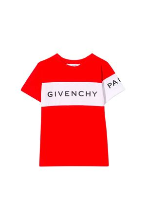RED T-SHIRT GIVENCHY KIDS TEEN  Givenchy Kids | 5032319 | H25138991T