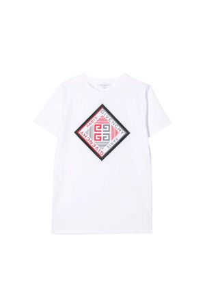 WHITE GIVENCHY KIDS T-SHIRT  Givenchy Kids | 5032319 | H2514310B