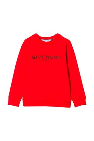 Red Givenchy Kids sweatshirt  Givenchy Kids | -108764232 | H25145991