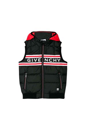 BLACK GIVENCHY KIDS SLEEVELESS JACKET  Givenchy Kids | 783955909 | H2604009B
