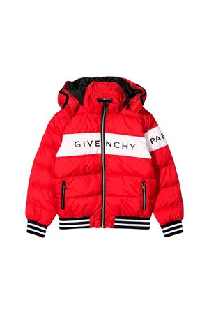 Piumino rosso Givenchy kids teen Givenchy Kids | 783955909 | H26041991T