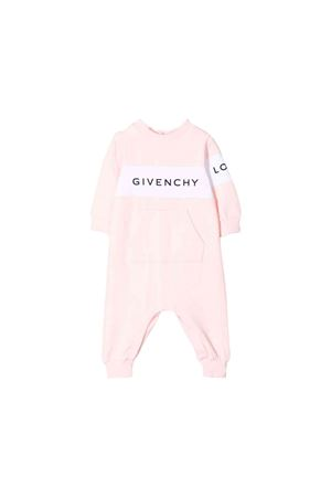 Givenchy kids newborn pink baby suit Givenchy Kids | -1617276553 | H9404045S