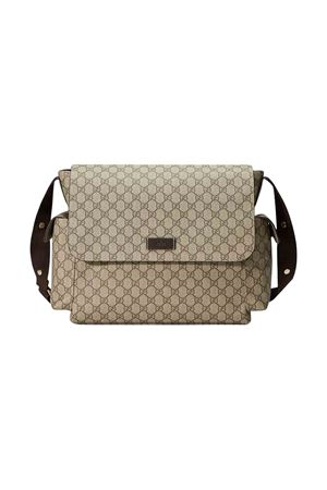 Changing bag with logo press Gucci kids GUCCI KIDS | 31 | 211131KGDIG8588