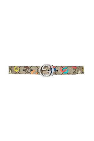 Gucci kids beige ranch belt  GUCCI KIDS | 22 | 258395HNR0N8919