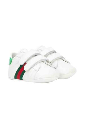 White sneakers with multicolor details Gucci kids GUCCI KIDS | 12 | 500852BKPT09070