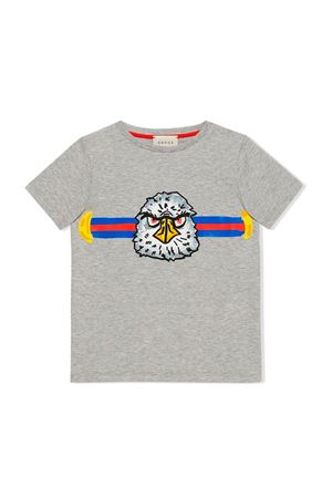 GUCCI KIDS GRAY T-SHIRT  GUCCI KIDS | 8 | 547559XJBC51135