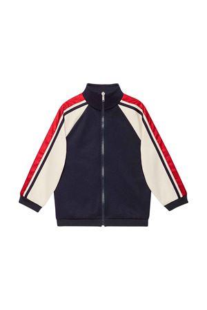 Gucci kids dark blue sweatshirt GUCCI KIDS | -108764232 | 564434XJBEQ4276