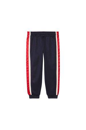 Gucci kids dark blue jogging pants GUCCI KIDS | 9 | 564435XJA7S4276