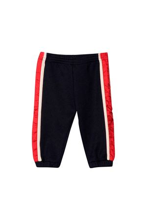 Gucci kids navy blue jogging pants  GUCCI KIDS | 9 | 564441XJA7S4276