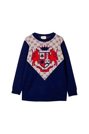 Blue Gucci kids sweater  GUCCI KIDS | 7 | 565833XKAP14300