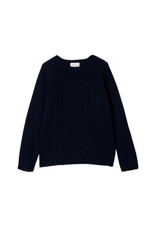 Gucci kids blue sweater  GUCCI KIDS | 7 | 570119XKAQB4440