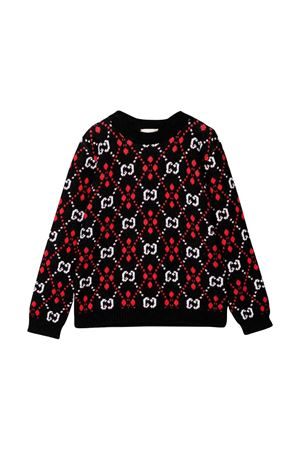 Gucci kids black sweater GUCCI KIDS | 7 | 570124XKANL1082