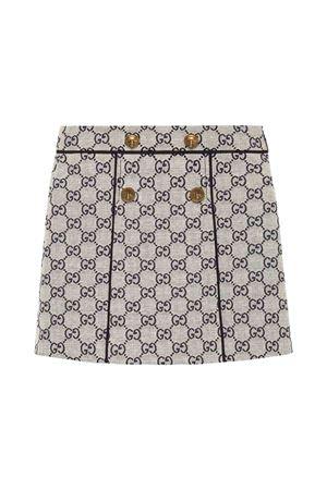 Gucci kids girl white skirt  GUCCI KIDS | 15 | 571293XWAE29318