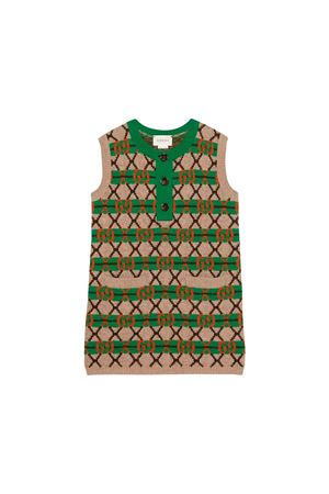Sand Gucci kids dress  GUCCI KIDS | 11 | 571623XKATZ9755