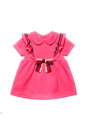 GUCCI KIDS NEWBORN PINK DRESS  GUCCI KIDS | 11 | 571864XJBE75175