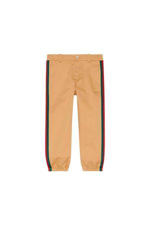 Gucci kids beige trousers  GUCCI KIDS | 9 | 573995XWAEW9813