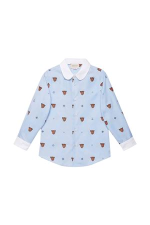 Blue Gucci kids shirt  GUCCI KIDS | 6 | 574554XWAFM4159