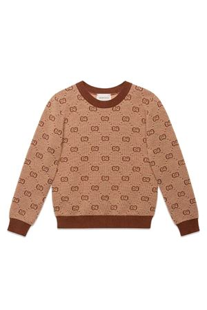 CAMEL GUCCI KIDS SWEATER  GUCCI KIDS | 7 | 574598XKASZ2094