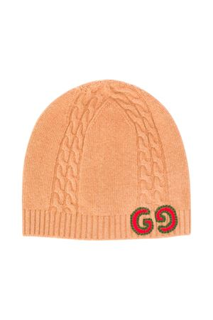 Gucci kids girl camel wool hat  GUCCI KIDS | 75988881 | 5747314K2069800