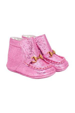 Stivaletti rosa neonata Gucci kids GUCCI KIDS | 76 | 57913701R005512
