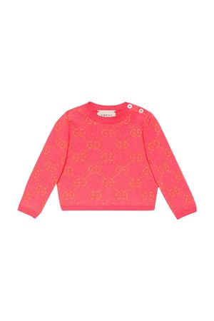 Baby pink Gucci kids sweater  GUCCI KIDS | 7 | 580627XKAHM5164