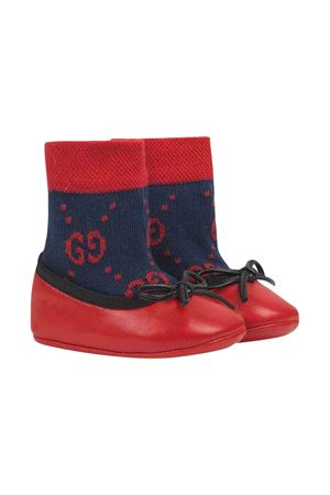 Red and blue shoes Gucci kids GUCCI KIDS | 12 | 581158HN1104173