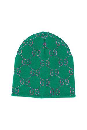 Green Gucci kids girl cap  GUCCI KIDS | 75988881 | 5815804K7403100