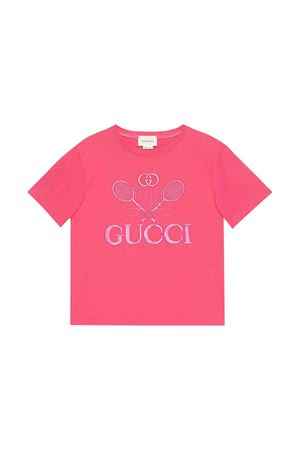 T-shirt fucsia Gucci kids GUCCI KIDS | 8 | 586167XJBK25465